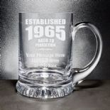 Birthday Tankard  Aged to Perfection PERSONALISED ENGRAVED ref ATATP